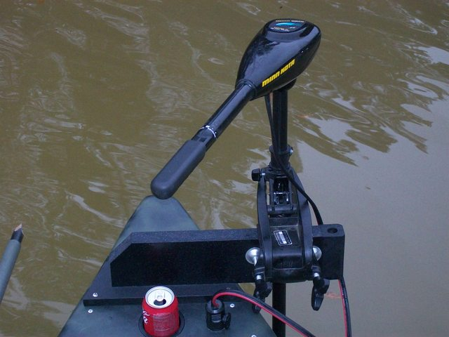 bow mount gheenoe -troller / anchor pin mount